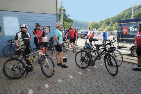 Radfahrer-Stützpunkt Hotel Lahnhof