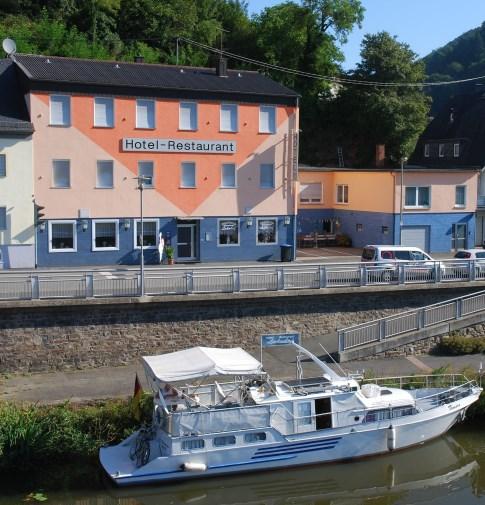 Hotel Lahnhof in Dausenau/Lahn